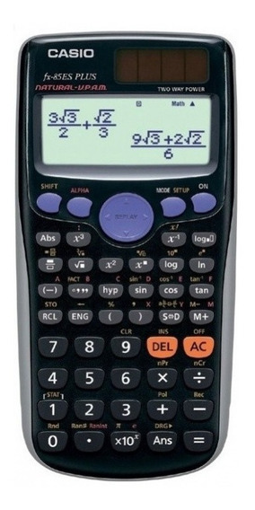 Calculadora Científica Casio Fx-82es Plus - Garantia 3 Anos