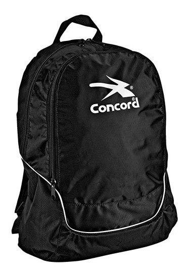 Concord Backpack Viaje Niño Negro Tela Plastico N91072 Udt
