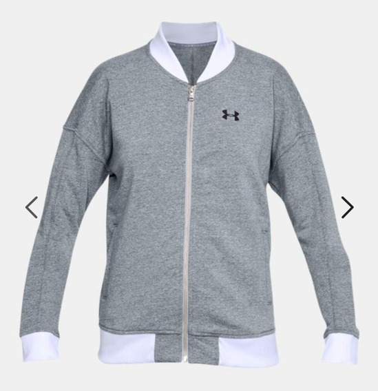 Chamarra Gym Under Armour Mujer (gris Claro)