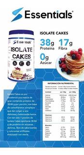 Isolate Cakes/ Harina Alta En Proteína 0 Azucar/essentials®