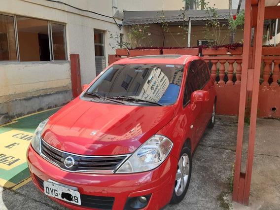 Nissan Tiida Sl 1.8 Aut Flex 10/11