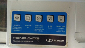 Notebook Buster 4 Gb 500 Processador Intel Dual Core