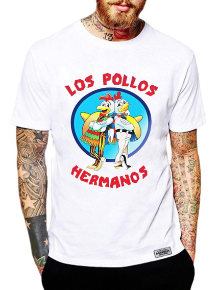 Remeras Pollos Hermanos Breaking Bad Walter White Pinkman