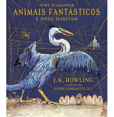 Animais Fantásticos E Onde Habitam - Ilustrado