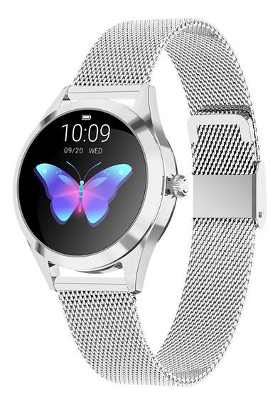 Smartwatch Diggro Kw10 64kb Ram 512kb Rom Ip68-plata