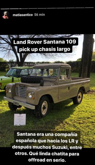 Land Rover Santana 109 Modelo 1981