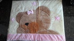 Tapete Quarto Bebê Ursa Soninho Rosa