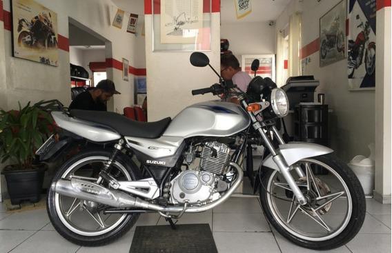 Suzuki En Yes 125 I Prata 2008