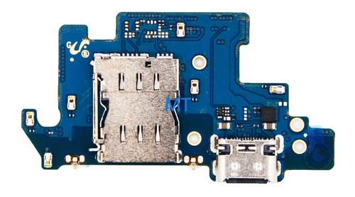 Flex Placa Pin De Carga Microfono Samsung Galaxy A80 A805