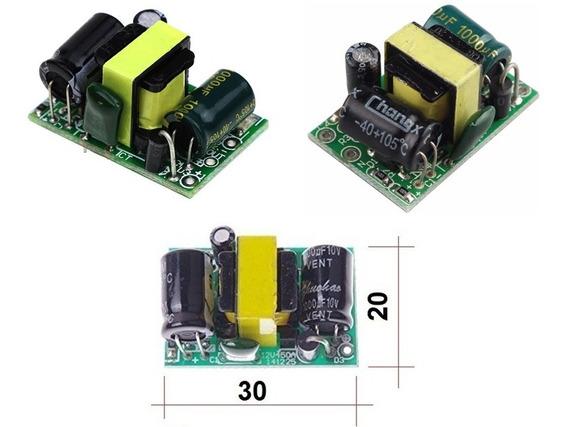 3x Mini Fonte 110-220v Ac 5v Dc 700ma 3.5w Arduino Esp8266