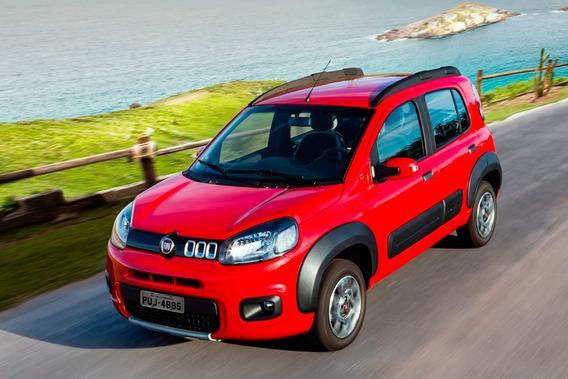 Fiat Uno Way Todo En Cuotas 100% Financiado Con Dni