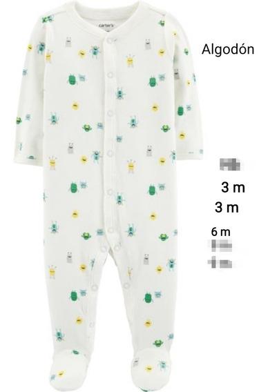 Carters Enteritos Pijama Rn A 9 Meses Bebe
