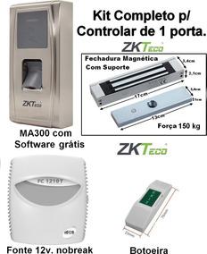 Controle De Acesso - Kit Para 1 Porta