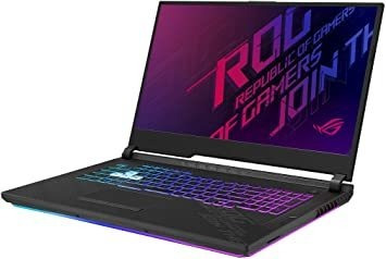 Notebook Asus Rog Strix G17 2020 Gaming Laptop 17.3 144hz I