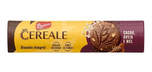 Imagem 1 de 1 de Biscoito Cereale Cacau Aveia E Mel Bauducco 170g