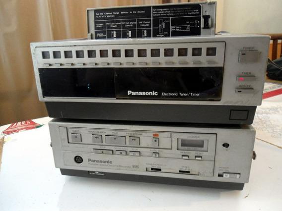 Video Cassete Panasonic Pv 5000 Com Tuner - Antigo Anos 80!