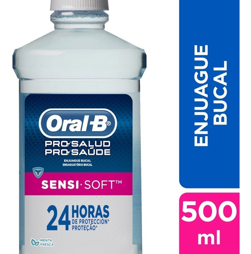Oral-b Enjuague Sensi-soft Sin Alcohol
