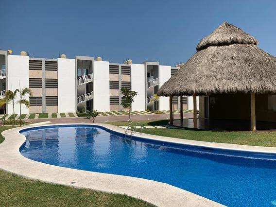 Departamento Amueblado En Renta En Fracc. Punta Azul