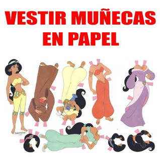 Kit Imprimible Papel Digital Vestir A La Muñeca Recortable
