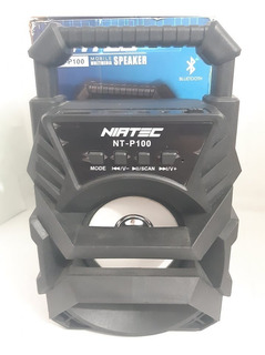 Parlante Bafle Rocola Niatec Nt P100 Speaker Sin Bateria