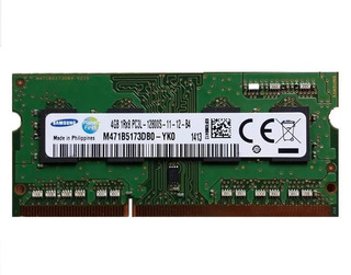 Memorias Para Notebook 4gb Ddr3 Y Ddr3l Pc3-12800 (1600mhz)