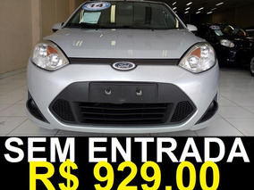 Ford Fiesta Sedan Se 1.6 8v Flex 4p Completo Prata 2014