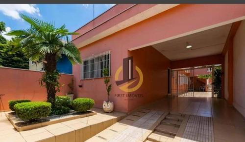 Imagem 1 de 29 de Casa Térrea Comercial Ou Residencial De 249 Mts² 3 Dorms 1 Suite 3 Vagas Em Ótima Localização No Ipiranga - Ca0159