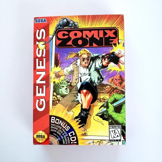 Comix Zone Original Mega Drive Sega Genesis