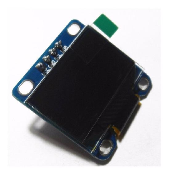 Display Lcd Oled Modulo Para Arduino 0.96 I2c Iic Spi