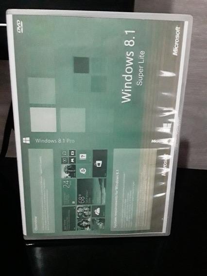 Dvd Windows 8.1 Pro Com Cd Para Ativação