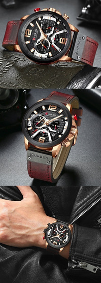 Relógio Original Lançamento Curren 2019