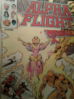 Comic Forum Alpha Flight/x Men