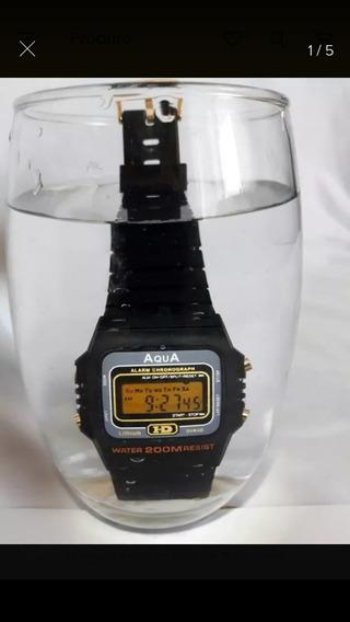 Relógio Aqua Em Atacado (kit Com 05 Unidades)