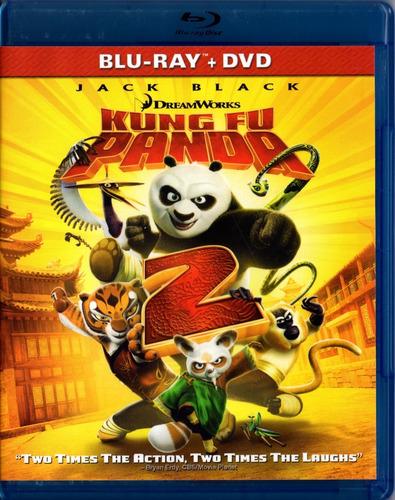 Kung Fu Panda 2 Dos Omar Chaparro Pelicula En Blu-ray + Dvd