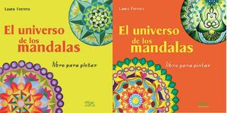 2 Libros De Mandalas Para Pintar + 6 Lápices De Regalo