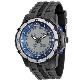 Relógio Speedo Masculino 81138g0evnp2, C/ Garantia E Nf