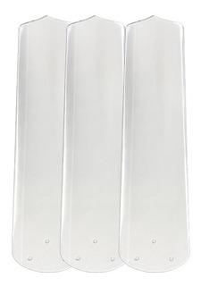 Jogo De Pás Para Ventiladores M3 Transparente Loren Sid