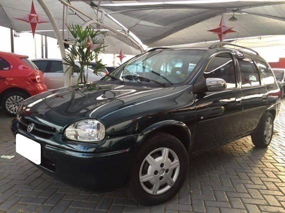 Chevrolet Corsa Wagon Gl 1.6 Verde Gasolina 4p Manual 1998
