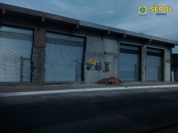Salão Para Alugar Por R$ 2.200/mês - Vila Antonieta - São Paulo/sp - Sl0077