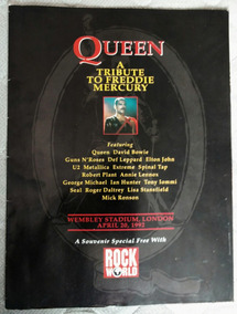 Revista Rock World A Tribute To Freddie Mercury