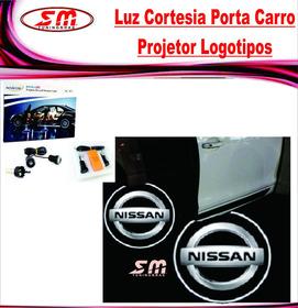 Projetor Porta De Carro Luz De Cortesia Iluminação Nissan