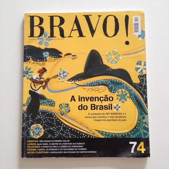 Revista Bravo 74 Nov 2003 Ary Barroso Invenção Do Brasil C2