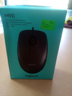 Mouse Logitech Para Pc O Laptop Usb / Nuevo