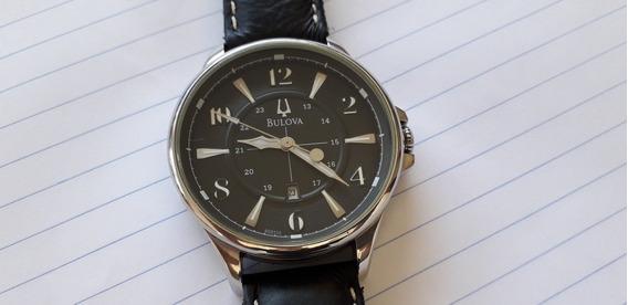 Relógio Bulova Original Mostrador Preto