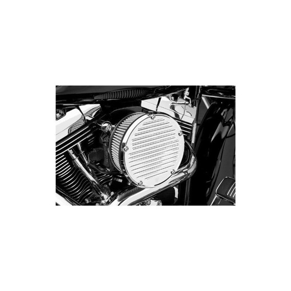 Arlen Ness 18-389 Black Big Sucker Derby Cover Kit De Filtro