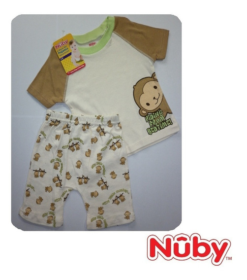 Pijama Para Bebe Set 2 Piezas / Ropa Para Bebe Nuby