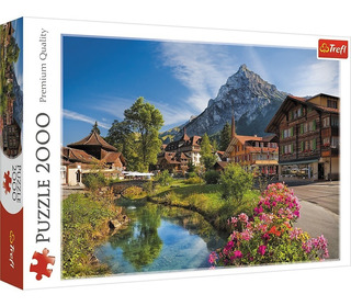 Rompecabezas Puzzle 2000 Piezas Trefl Alpes En Verano 27089