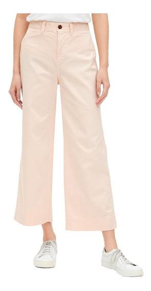 Pantalón Dama Pierna Amplia Mujer Acampanado 442191 Gap