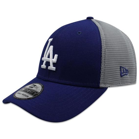 Gorra New Era 39 Thirty Mlb Dodgers 2t Sided Azul