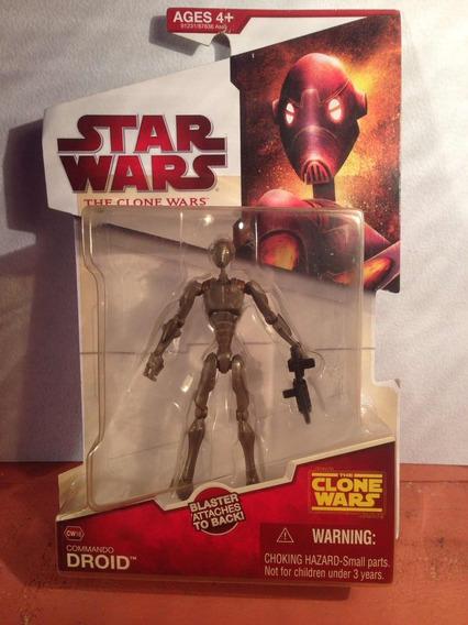 Star Wars The Clone Wars Commando Droid Cw16